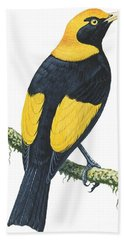 Bowerbird  Beach Towel