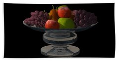 Bowl Of Fruit... Beach Towel by Tim Fillingim