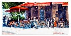Brasserie Isle St. Louis Beach Sheet
