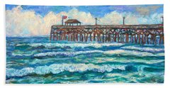 Breakers At Pawleys Island Beach Towel