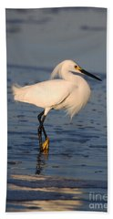 Beach Sheet featuring the photograph Breakfast Companion by Linda Mesibov