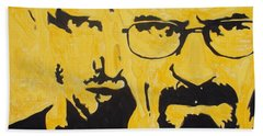 Breaking Bad Yellow Beach Towel