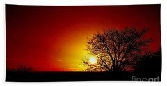 Breaking Dawn Beach Towel