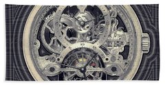 Breguet Skeleton Beach Towel
