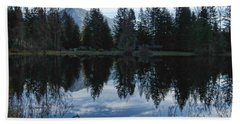 Brewster Lake North Bend Wa Beach Towel