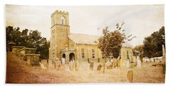 Brick Church In Montgomery Beach Towel