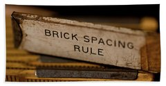 Brick Mason's Rule Beach Sheet