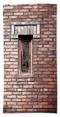 Brick Work Beach Towel by Melanie Lankford Photography