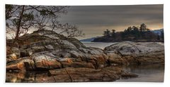 Tranquil Waters Beach Towel