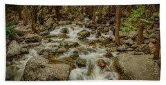 Bridalveil Creek In Yosemite Beach Sheet
