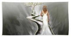 Bride Of Christ Beach Towel