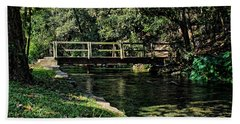 Bridge Of Serenity Beach Towel
