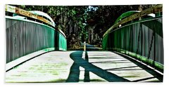 Bridge Of Shadows Beach Towel