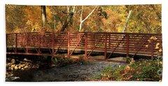 Bridge On Big Chico Creek Beach Sheet