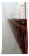 Bridge To Obscurity Beach Sheet by Bill Gallagher