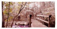 Bridge To Utopia  Beach Sheet