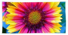 Beach Towel featuring the photograph Brilliance by Deena Stoddard