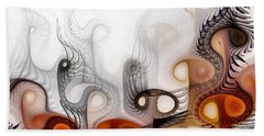 Beach Sheet featuring the digital art Bringers Of Prophecy by NirvanaBlues