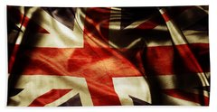British Flag 1 Beach Towel