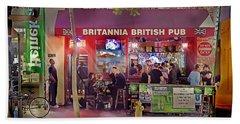British Pub Beach Sheet