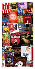 Broadway 4 Beach Towel