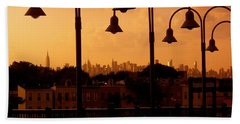 Broadway Junction In Brooklyn, New York Beach Towel