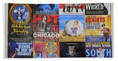 Broadway's Favorites Beach Sheet