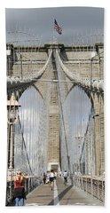 Brooklyn Bridge Beach Towel