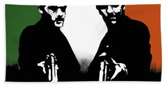 Brothers Killers And Saints Beach Towel