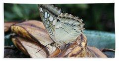 Brown Clipper Butterfly #3 Beach Sheet