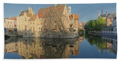 Bruge Reflections Beach Sheet