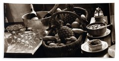 Brunch In The Loire Valley Beach Towel