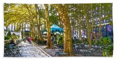 Bryant Park October Beach Towel