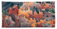 Bryce Canyon At Sunrise Beach Towel