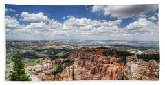 Beach Towel featuring the photograph Bryce Point by Tammy Wetzel