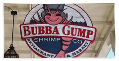 Bubba Gump Shrimp Co. Beach Towel