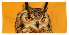 Bubo Bubo Beach Towel