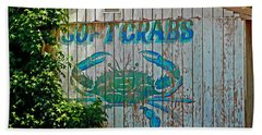 Buckroe Crab Shack Beach Towel