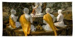 Buddha Lessons Beach Towel