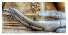 Buddha's Hand Beach Towel