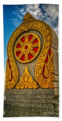 Buddhist Icon Beach Towel