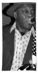 Buddy Guy Sings The Blues Beach Towel