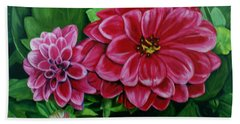Buds And Blossoms Beach Towel