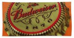Budweiser Cap Beach Sheet