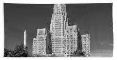 Buffalo City Hall 0519b Beach Towel