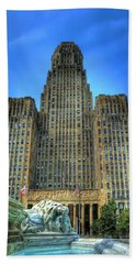 Buffalo City Hall Beach Towel