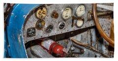 Bugatti Cockpit Beach Sheet