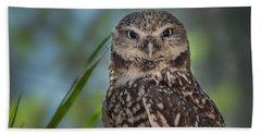 Burrowing Owl Beach Towel