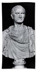 Bust Of Marcus Licinius Crassus Beach Towel