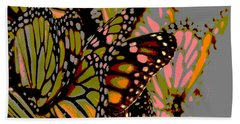 Butterflies Beach Sheet